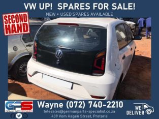 Volkswagen Up! Spares FOR SALE! ( new + used spares available )