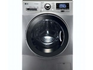 LG WASHING MACHINE STEAM 12KG F1495BDSK6