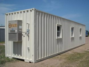 12″ METER (40-FOOT) OFFICE CONTAINERS