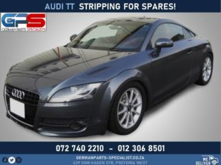 Audi TT Stripping For Spares