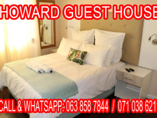 ACCOMMODATION FACILITIES AVAILABLE