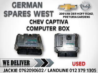 CHEV CAPTIVA USED COMPUTER BOX FOR SALE