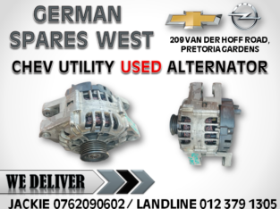 CHEV UTILITY USED ALTERNATOR FOR SALE