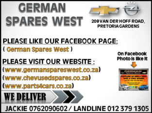 GERMAN SPARES WEST FACEBOOK