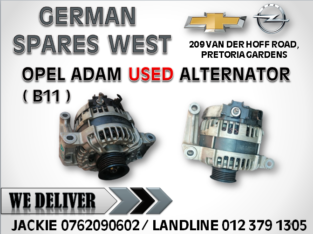 OPEL ADAM ( B11 ) USED ALTERNATOR FOR SALE