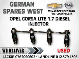 OPEL CORSA LITE 1.7 DIESEL USED INJECTOR FOR SALE