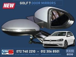 Volkswagen Golf 7 TSI: New Door Mirrors