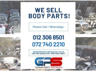 We Sell Body Parts !