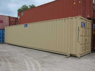 12″ METER (40-FOOT) SHIPPING / CARGO CONTAINER