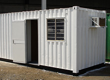 6″ METER (20-FOOT) PORTABLE OFFICE CONTAINERS