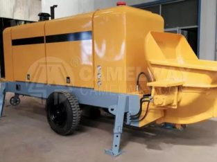 Trailer Type Concrete Pump