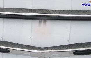 Mercedes W123 Sedan bumper (1976–1985) by stainless steel