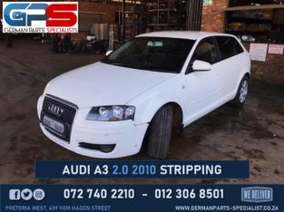Audi A3 2.0 2010 Used Spare Parts