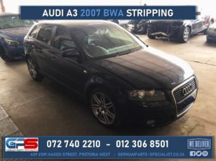 Audi A3 2007 BWA 2.0t Stripping For Spares