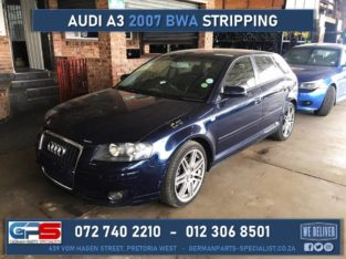 Audi A3 2007 BWA 2.0t Used Spares