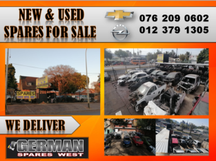 CHEVROLET & OPEL USED AND NEW SPARES FOR SALE