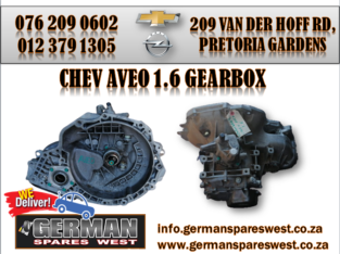 CHEV AVEO 1.6 USED GEARBOX FOR SALE