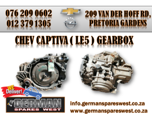CHEV CAPTIVA USED ( LE5 ) GEARBOX FOR SALE