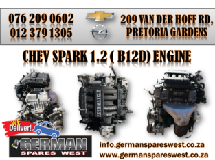 CHEV SPARK 1.2 ( B12D ) ENGINE FOR SALE