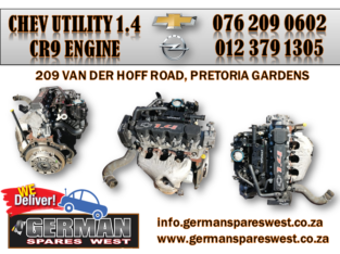 CHEVROLET UTILITY1.4 USED CR9 ENGINE FOR SALE