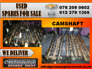 CHEVROLET & OPEL USED CAMSHAFT FOR SALE