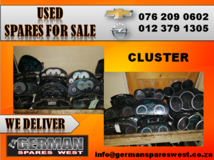 CHEVROLET & OPEL USED CLUTSER FOR SALE