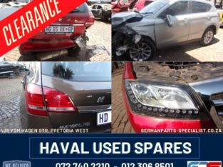 Haval H2 H6 Used Spares Clearance !