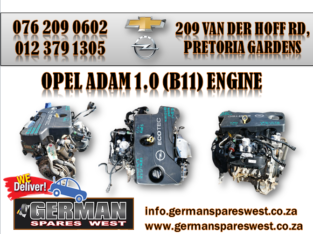 OPEL ADAM 1.0 ( B11 ) ENGINE FOR SALE