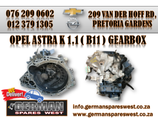 OPEL ASTRA K USED ( B11) GEARBOX FOR SALE