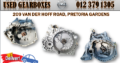 OPEL AND CHEVROLET USED GEARBOXES FOR SALE