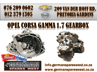 OPEL CORSA GAMMA 1.7 GEARBOX FOR SALE