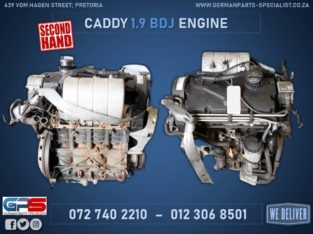 Volkswagen Caddy 1.9 BDJ Used Engine