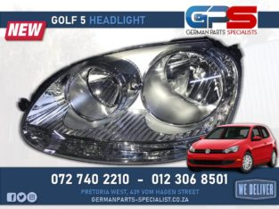Volkswagen Golf 5 New Headlight
