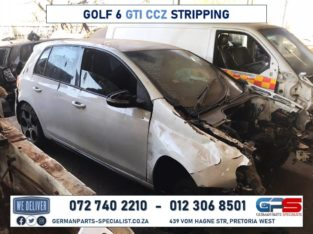Volkswagen Golf 6 GTI CCZ Stripping For Spares