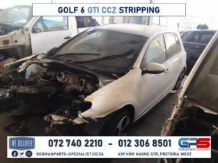 Volkswagen Golf 6 GTI CCZ Used Spares