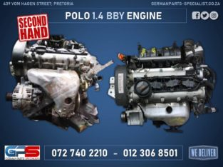 Volkswagen Polo 1.4 BBY Used Engine