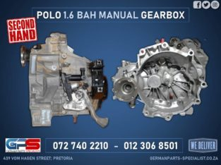 Volkswagen Polo 1.6 BAH Manual Used Gearboxx