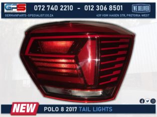 Volkswagen Polo 8 2017 New Tail Light