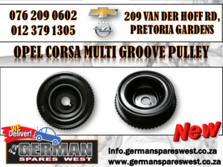 OPEL CORSA MULTI GROOVE PULLEY FOR SALE