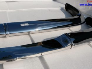 BMW 2000 CS bumpers (1965-1969) by stainless steel