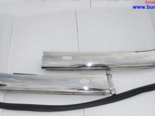 BMW 2800CS BMW E9 bumpers by stainless steel
