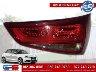 Audi A1 2012 Used Tail Light & Other Spares
