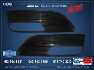 Audi A3 New Fog Light Covers & Other Used Spares