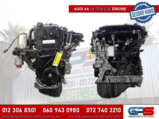 Audi A4 1.8 TFSI CJE Used Engine & Other Used Spares