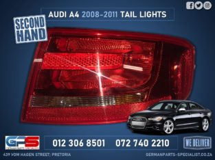 Audi A4 New Tail Light 2008-11 & Other Used Spares