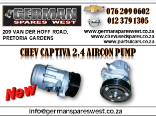 CHEV CAPTIVA 2.4 NEW AIRCON PUMP FOR SALE