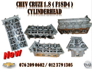 CHEV CRUZE 1.8( F18D4 ) NEW CYLINDERHEAD FOR SALE
