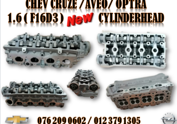 CHEV CRUZE / AVEO / OPTRA ( F16D3 ) NEW CYLINDERHEAD FOR SALE