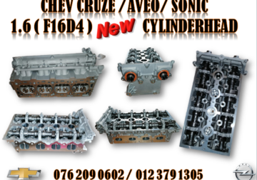CHEV CRUZE / AVEO / SONIC ( F16D4 ) NEW CYLINDERHEAD FOR SALE