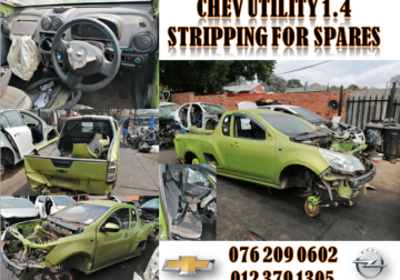 CHEV UTILITY 1.4 USED REPLACEMENT PARTS FOR SALE